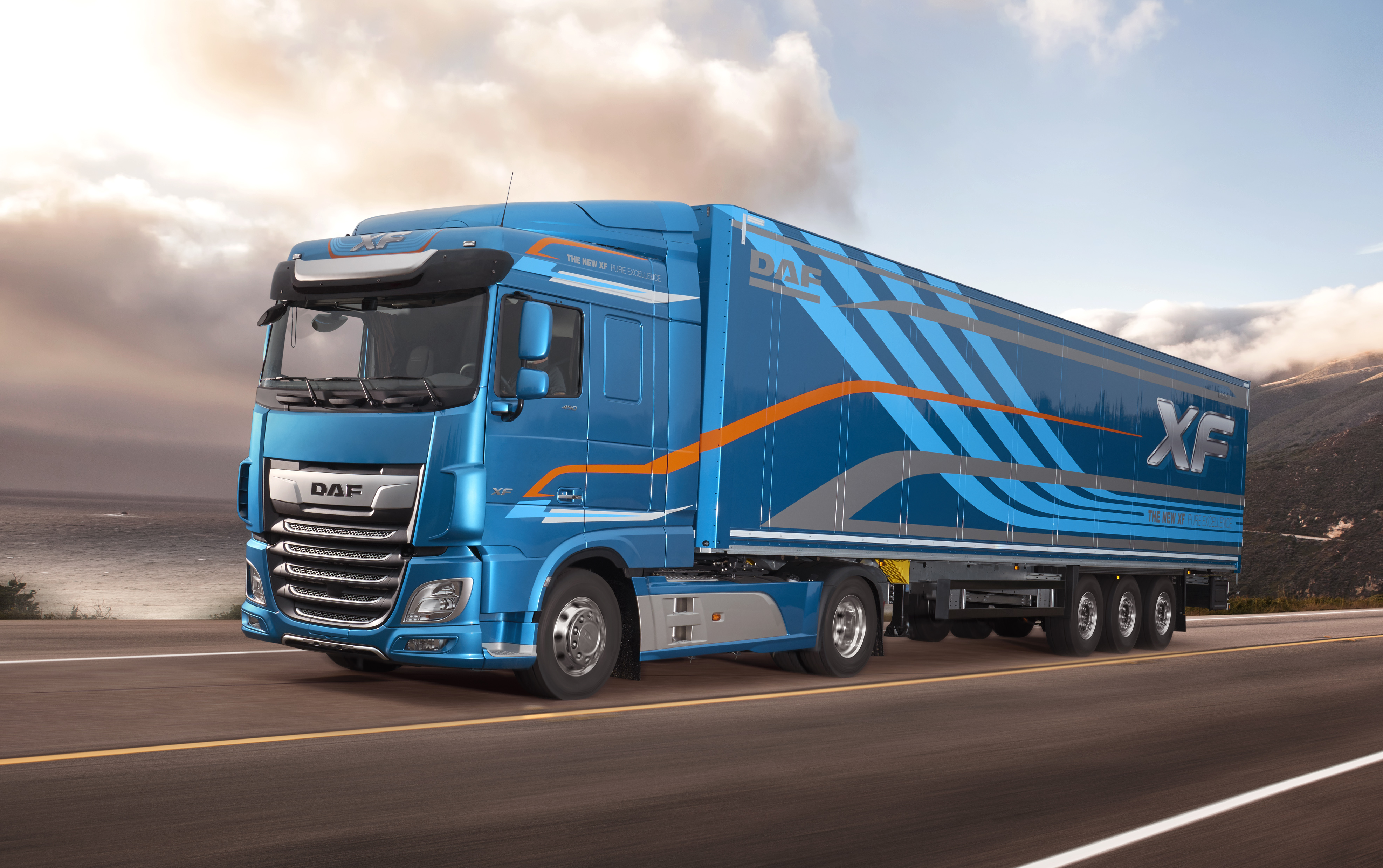 Wszystkie nowe DAF: samochody ciężarowe, sprzedaż - nowe - używane   Grupa DBK TK52