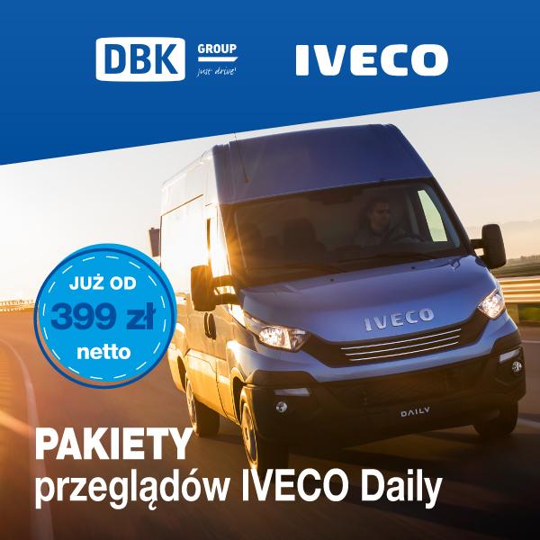 Przeglądy Iveco Daily