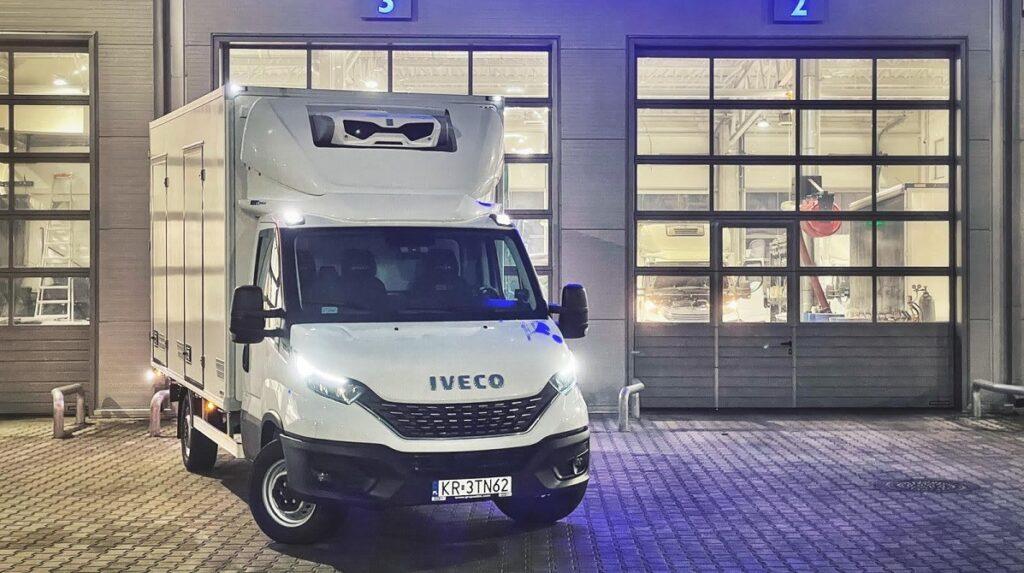 IVECO Daily ze specjalistyczną zabudową piekarniczą